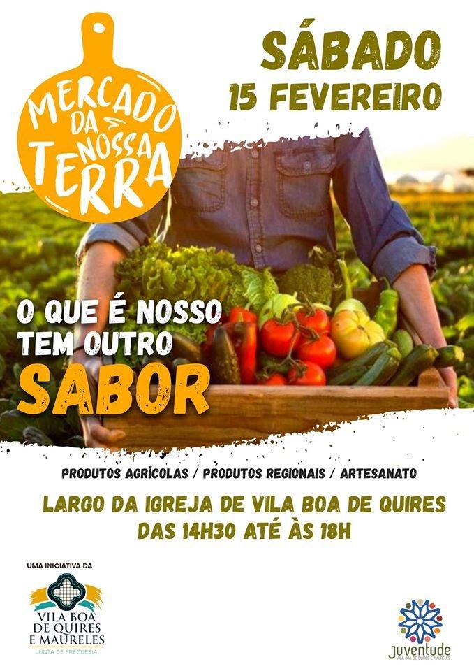 Mercado da Nossa Terra – Vila Boa Quires