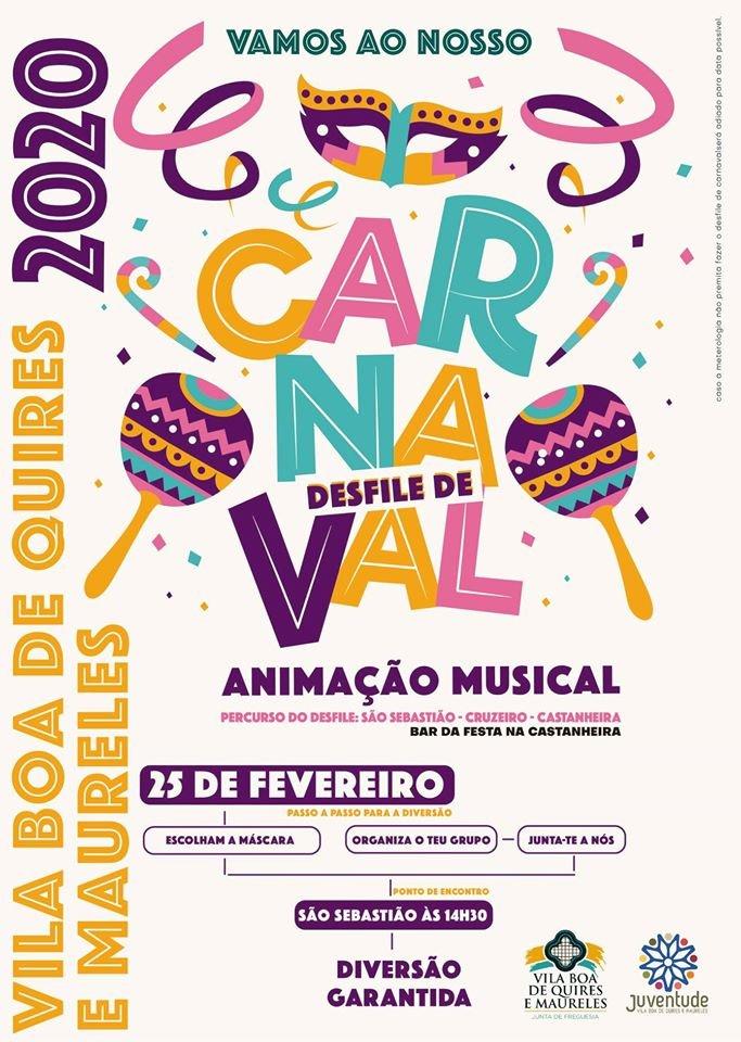 Desfile de Carnaval – VILA BOA DE QUIRES E MAURELES