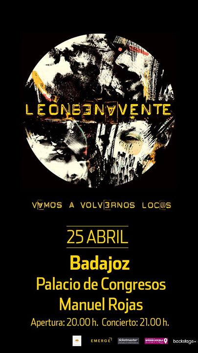 Leon Benavente en Badajoz
