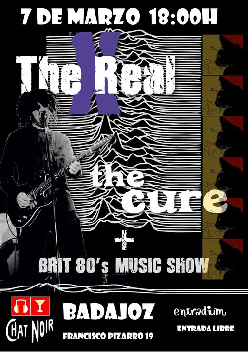 The Real X en Badajoz Performing The Cure y Brit 80s hits