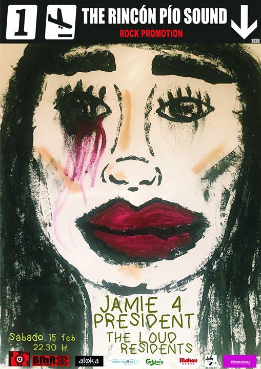 Jamie 4 President. The Loud Residents