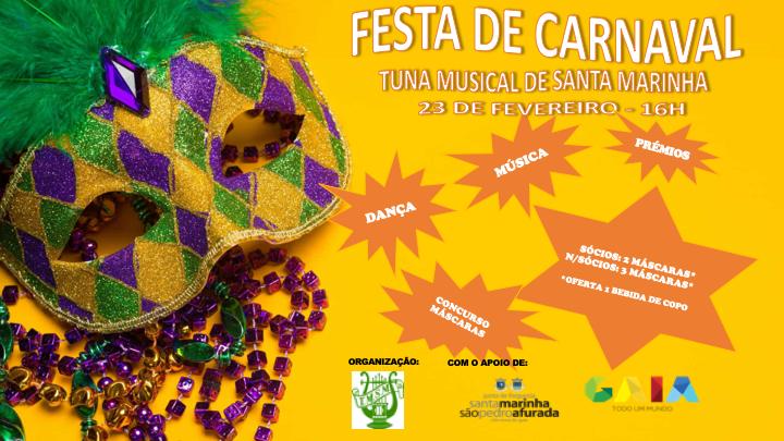 Festa de Carnaval - Tuna Musical de Santa Marinha