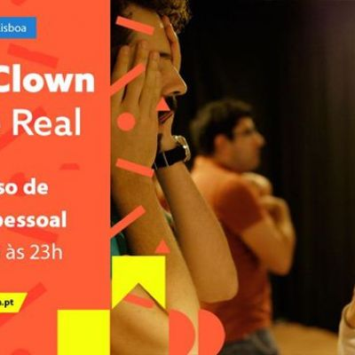 Oficina Clown no Príncipe Real