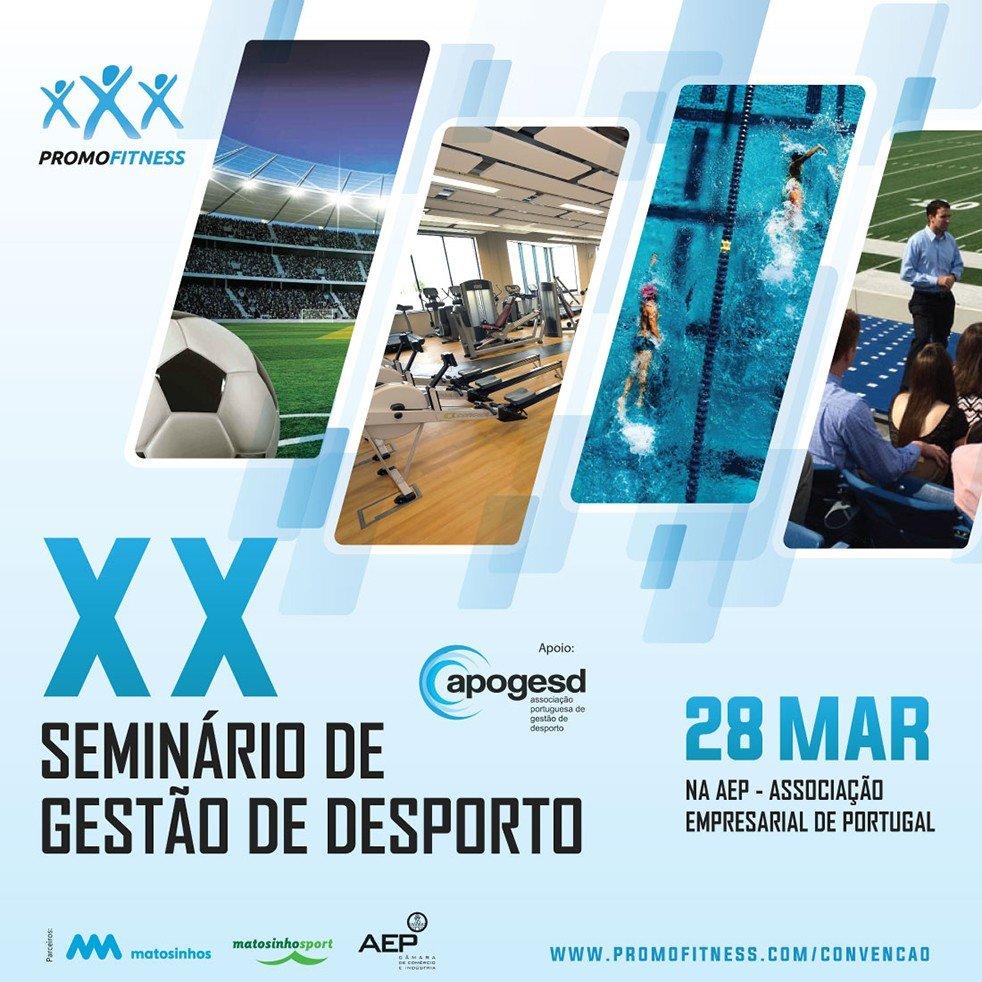 XX Seminário de Gestão de Desporto