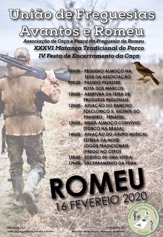 Festa do Encerramento da Caça - UF Avantos e Romeu