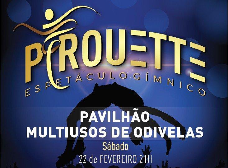 Espetáculo Gímnico 'Pirouette'