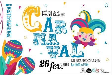 Férias de Carnaval no Museu de Olaria