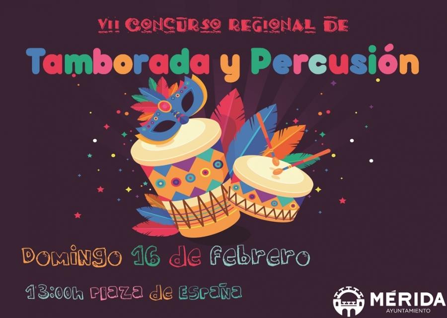 VII Concurso Regional de Tamborada y Percusión
