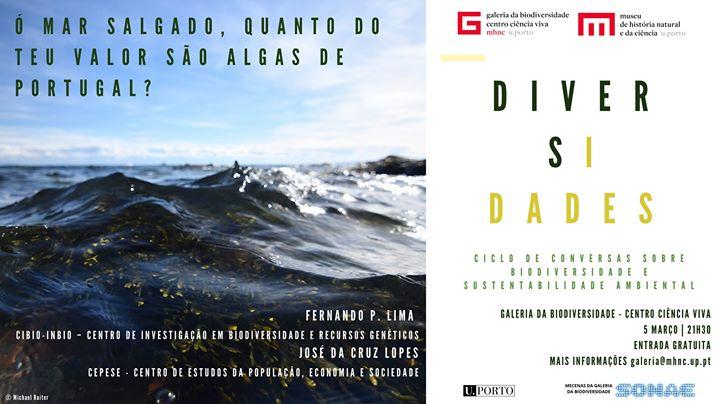 Ó mar salgado, quanto do teu valor são algas de Portugal?