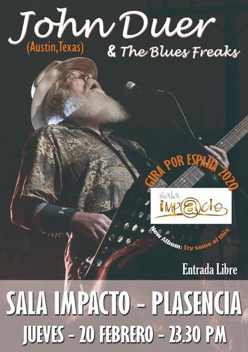 JOHN DUER  & The Blues Freaks ( Austin Texas )