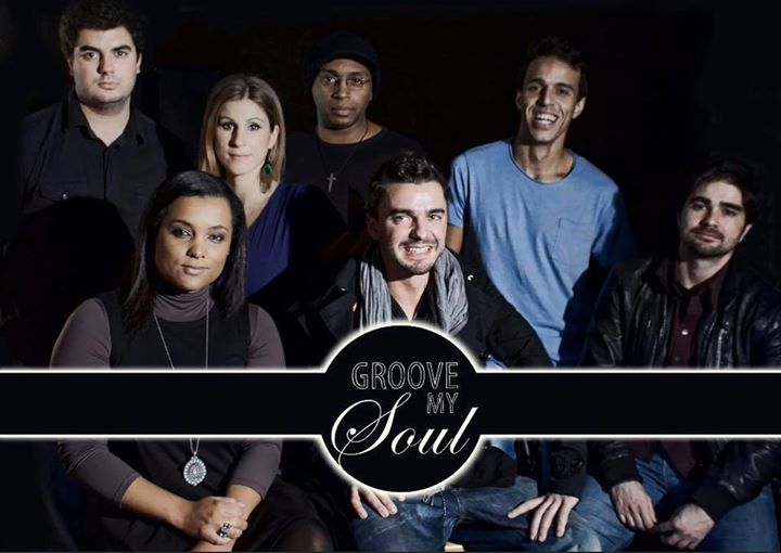 GROOVE MY SOUL (#1 aniversário Hot Five Uptown)