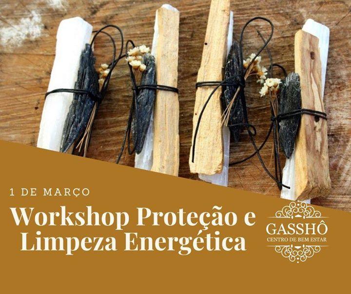 Workshop de proteção e limpeza energética