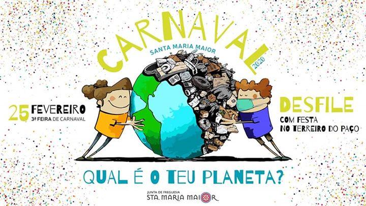 Qual é o teu planeta? - Desfile de Carnaval