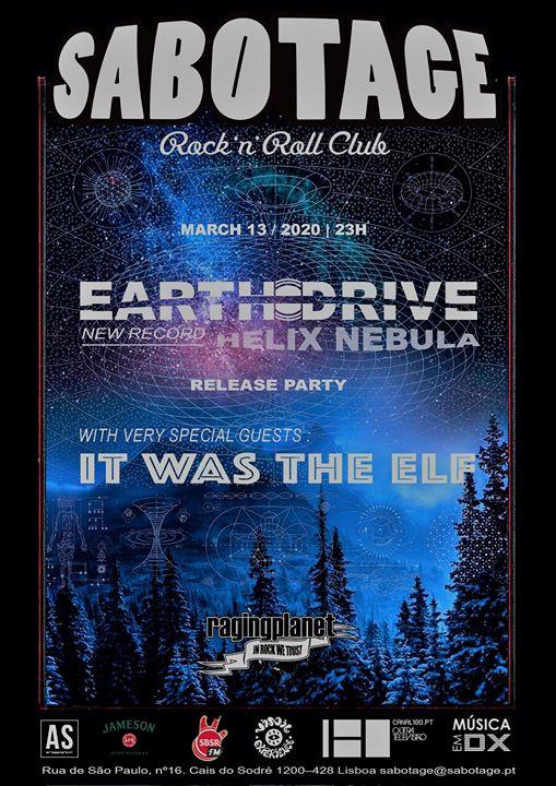 Adiado: Earth Drive + It Was the Elf | Sabotage Club