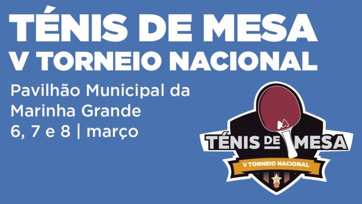 V Torneio Nacional de Ténis de Mesa