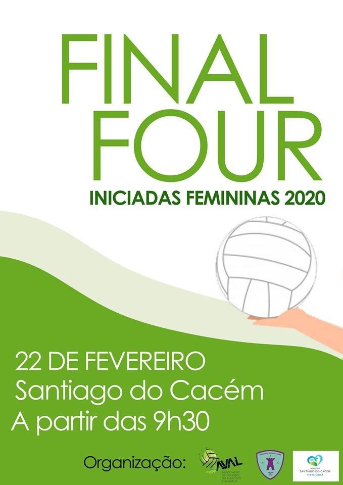 Final Four do Campeonato Regional de Iniciadas femininas de Voleibol