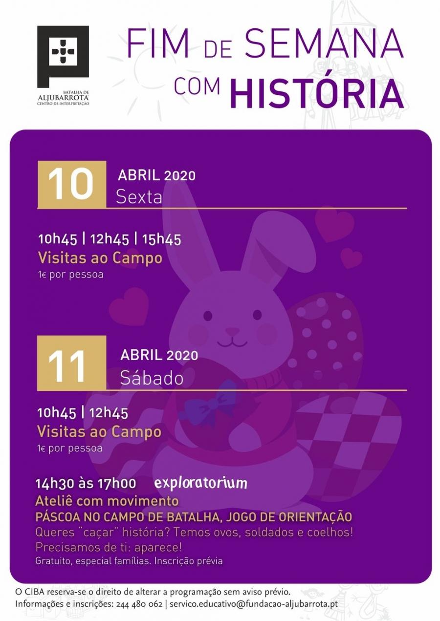 Fim de Semana com História - CANCELADO