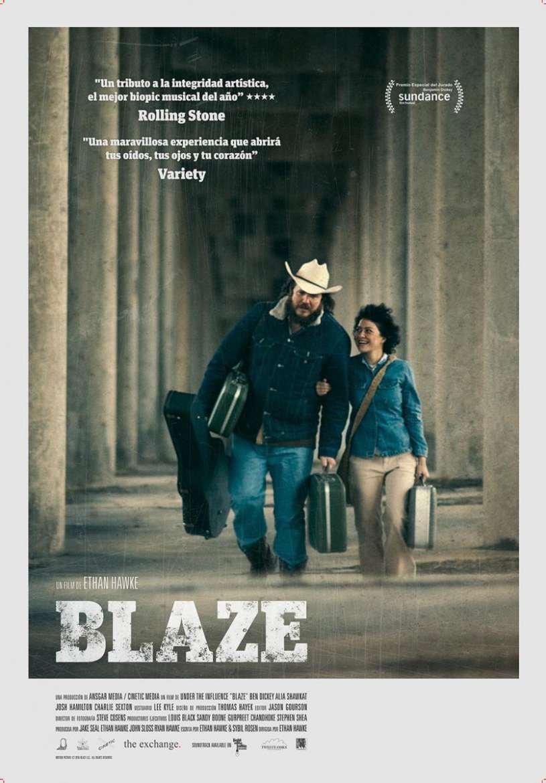 Cine Filmoteca: «Blaze»