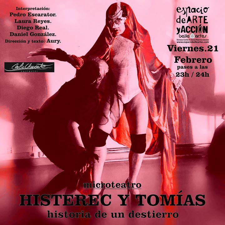 Microteatro Histerec Y Tomías
