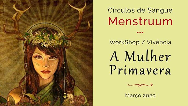 A Mulher Primavera - Círculos de Sangue Menstruum