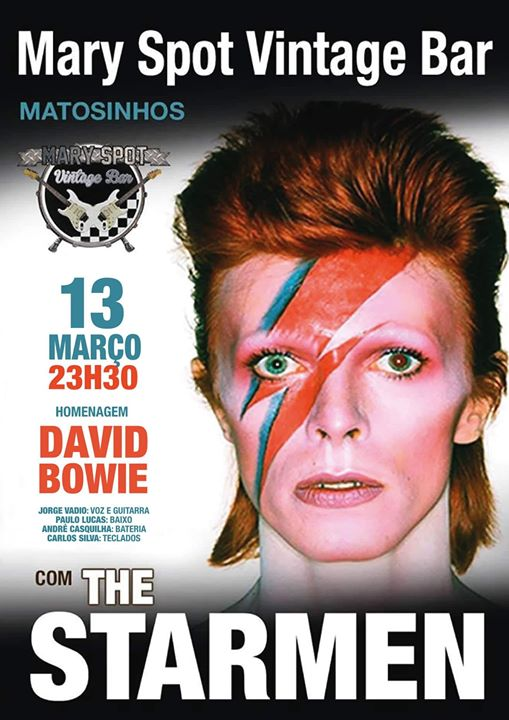 The Starmen tributo David Bowie