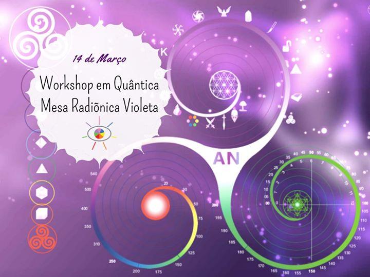 Workshop - em Quântica Mesa Radiónica Violeta
