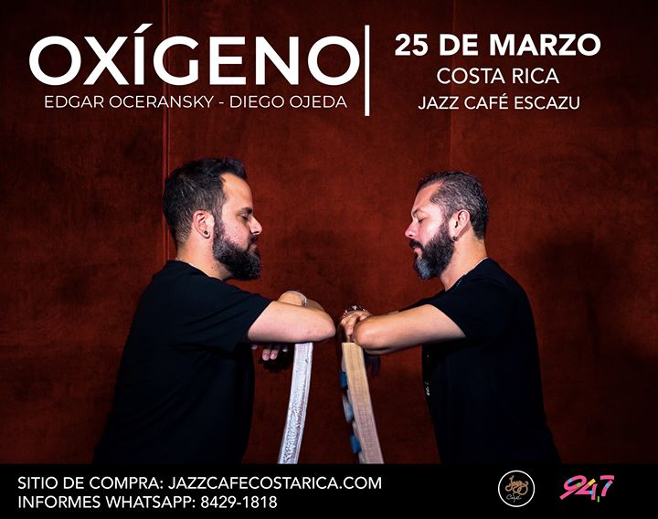 Edgar Oceransky y Diego Ojeda en Costa Rica