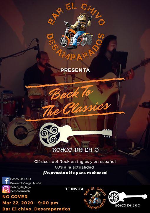 Bosco De La O - Back To The Clasics