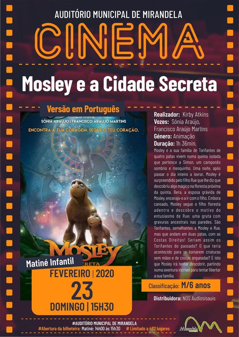 Cinema: Mosley e a Cidade Secreta