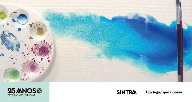 Workshops de pintura artística e aguarelas na Casa da Cultura Lívio de Morais