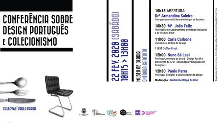 Conferência sobre Design Português e Colecionismo