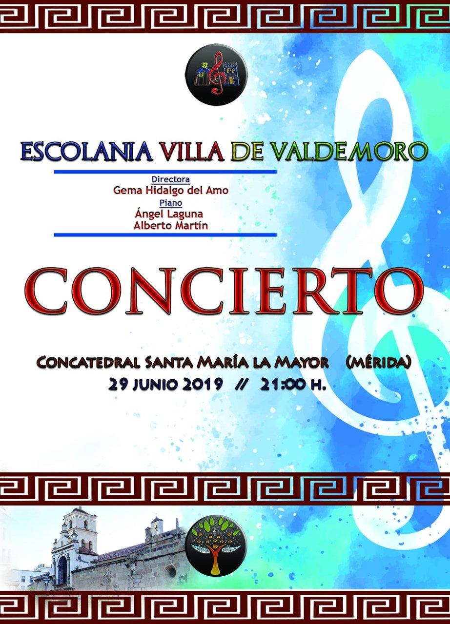Concierto Escolanía Villa de Valdemoro