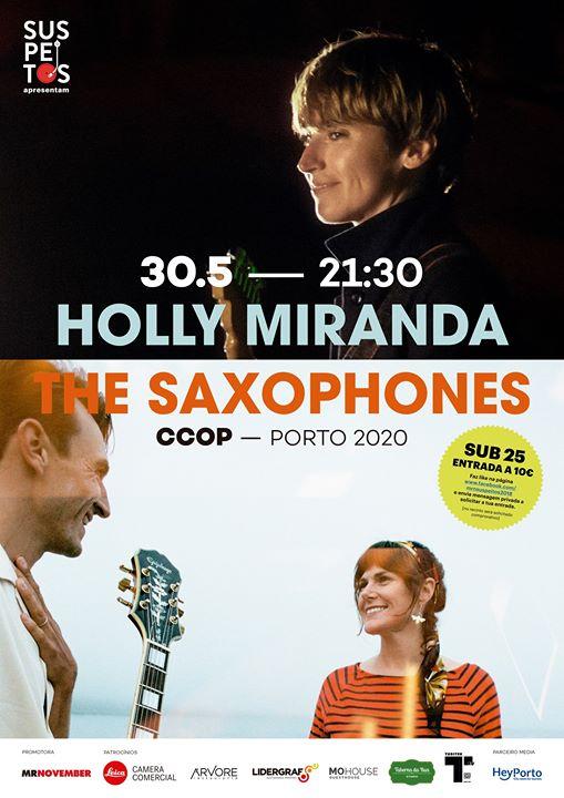 *ADIADO* Reunião De Condomínio - Holly Miranda & The Saxophones