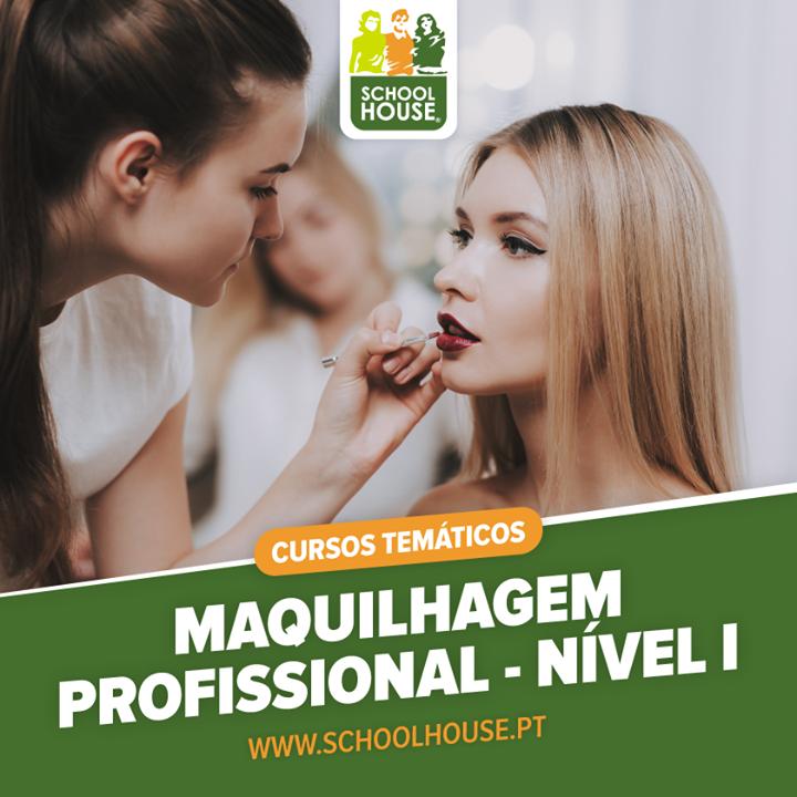 Curso de Maquilhagem Profissional - Nivel 1- Vagas Limitadas
