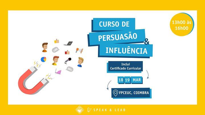 Curso Persuasão & Influência-Coimbra-FPCEUC