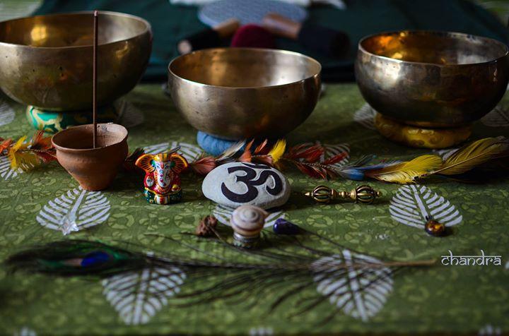 Viagem Sonora com Taças Tibetanas