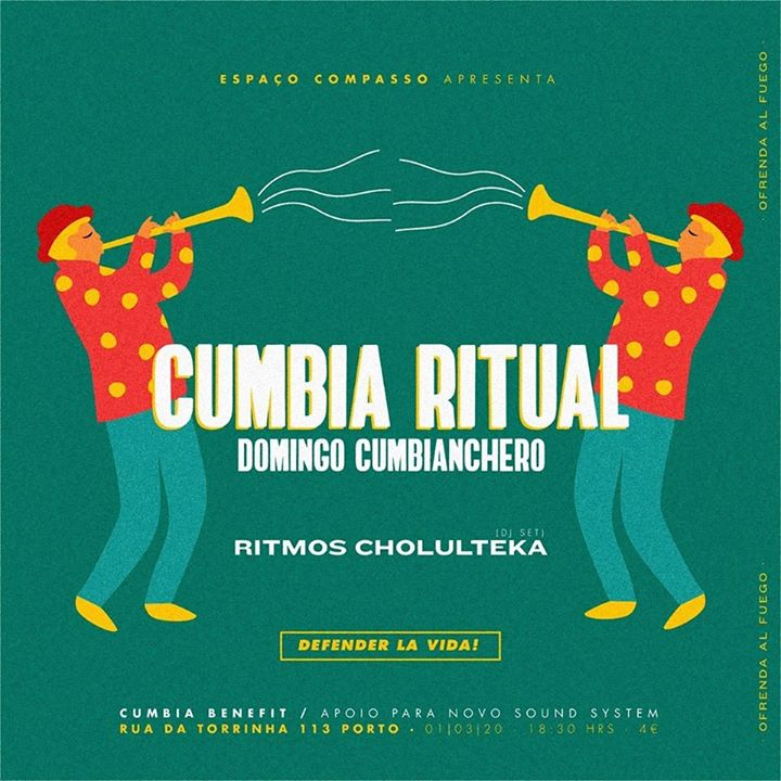 Cumbia Ritual // Ritmos Cholulteka // Benefit - Sistema de Som
