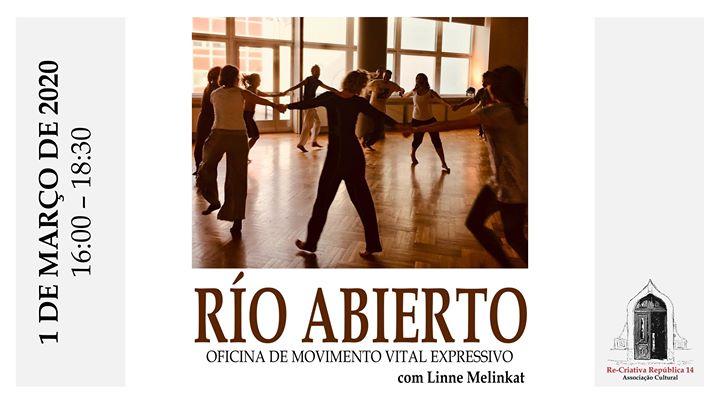 Workshop de Movimento Vital Expressivo - Sistema Río Abierto