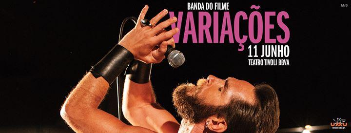 Banda do Filme Variações - Teatro Tivoli BBVA