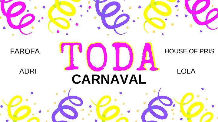 TODA de Carnaval - Domingo - Ferro Bar