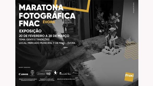 Exposição da Maratona Fotográfica Fnac Évora