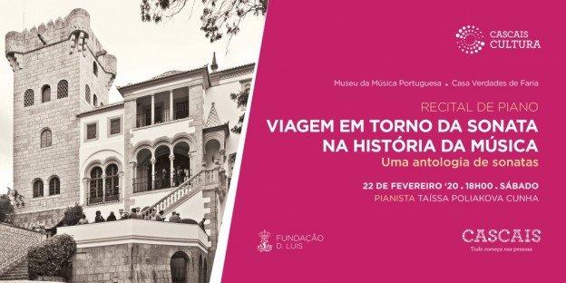 'Viagem em Torno da Sonata na História da Música' | Recital de piano com Taíssa Poliakova Cunha