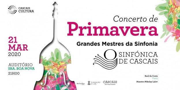 Sinfónica Cascais |  Concerto de Primavera