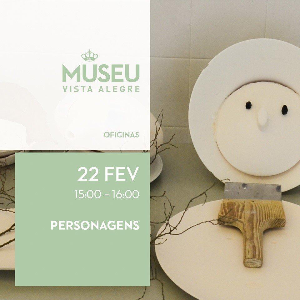 Personagens - oficina de porcelana
