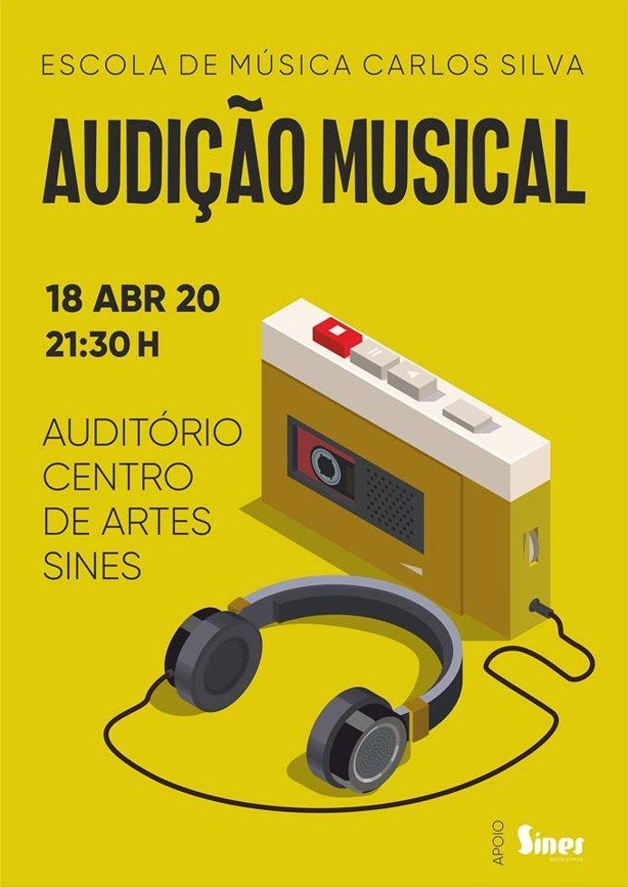 Audição da Escola de Música Carlos Silva