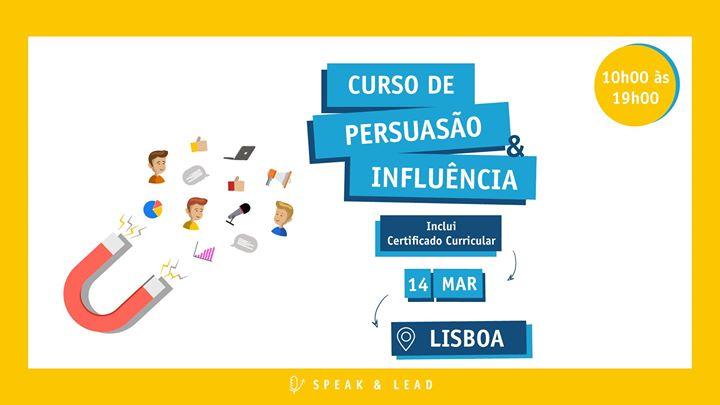 Curso Persuasão & Influência - Lisboa