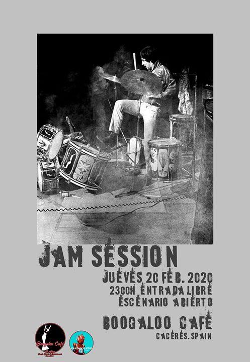 Jam Session en Boogaloo Cáceres