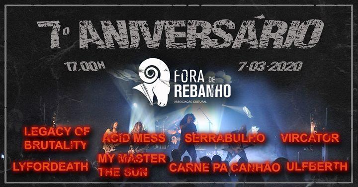 7º Aniversário Fora de Rebanho - Associação Cultural