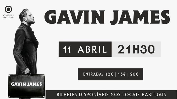 Gavin James   Coliseu Micaelense