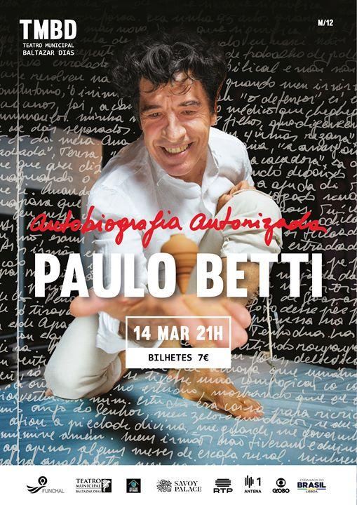 Autobiografia autorizada de Paulo Betti